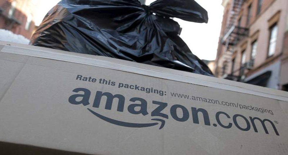 Amazon warns that Trump's 'America First' agenda could hurt its business
