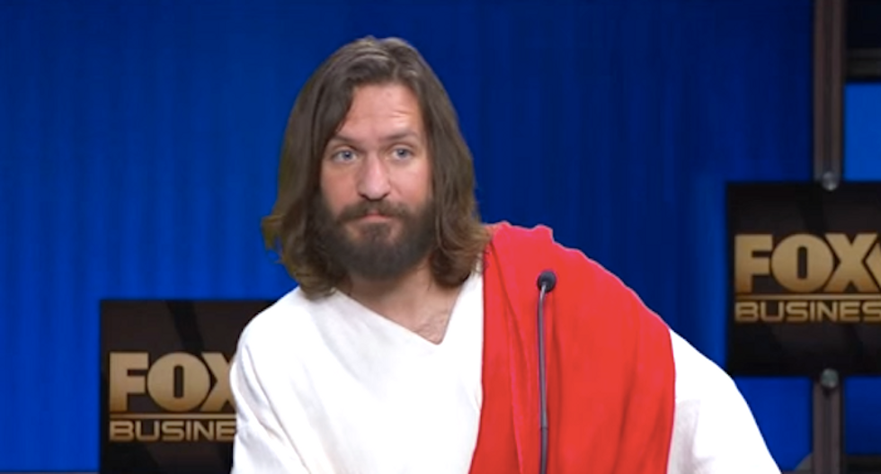 'I would bomb the sh*t out of them': Here's what it would sound like if Jesus talked like a Republican