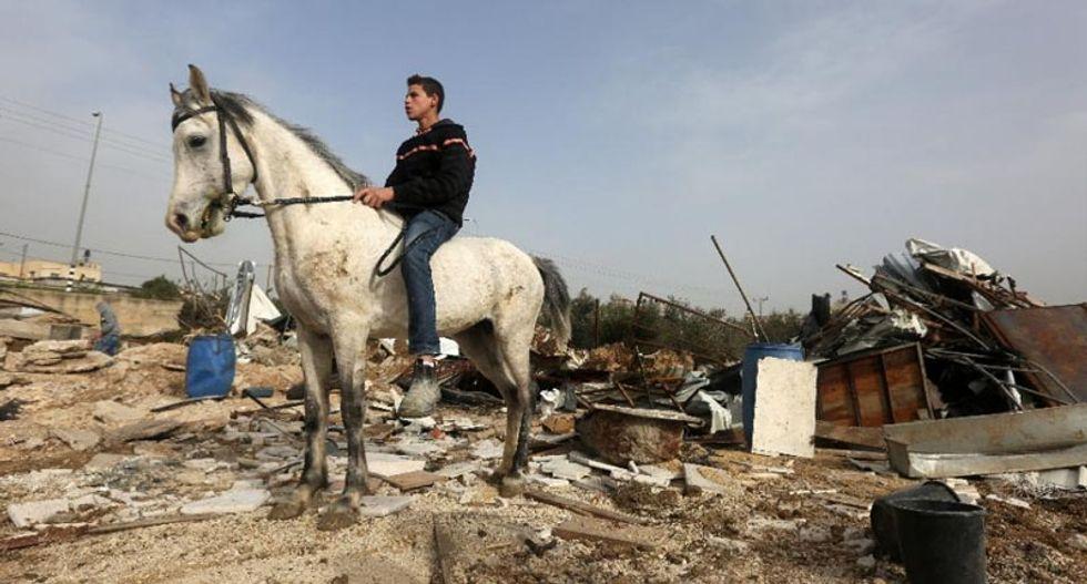 Israel demolishes EU-funded Palestinian buildings