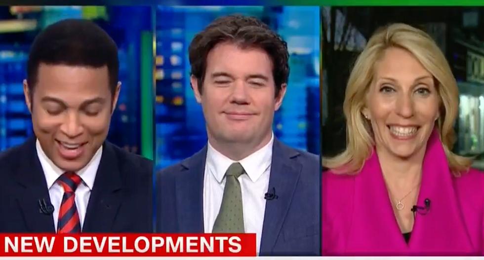 'Pretty extraordinary': CNN's Dana Bash jokes Trump hides his phone calls from John Kelly 'like a teenager'