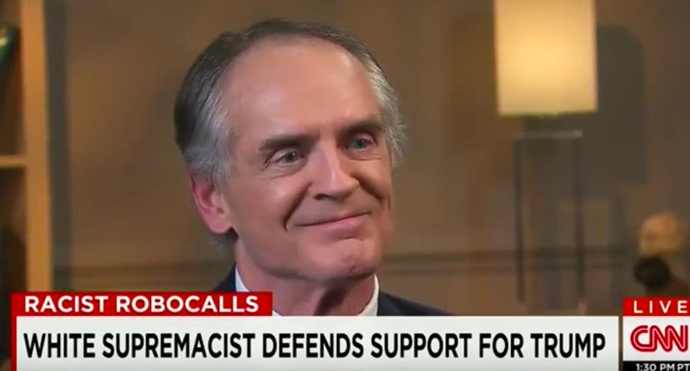WATCH: White nationalist explains why Trump's racist message 'appeals' to 'ordinary white people'