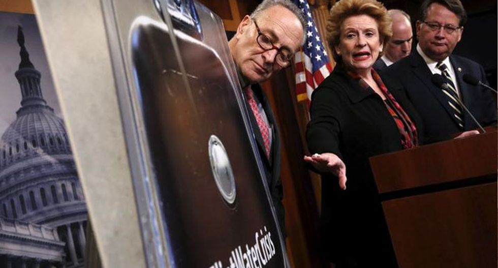 Senate Democrats team up with Republicans to block energy bill in fight over aid for Flint