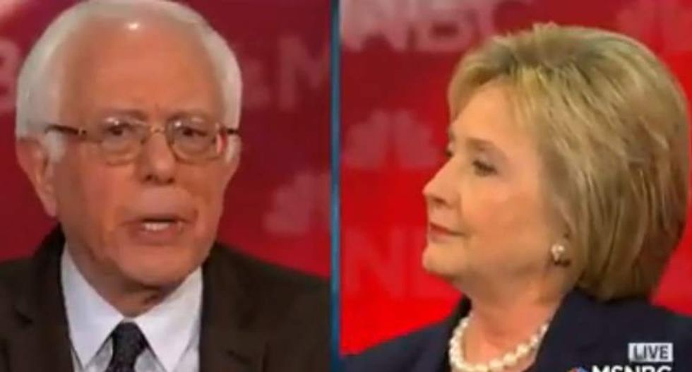 WATCH: Clinton and Sanders clash after she accuses him of 'very artful smear'