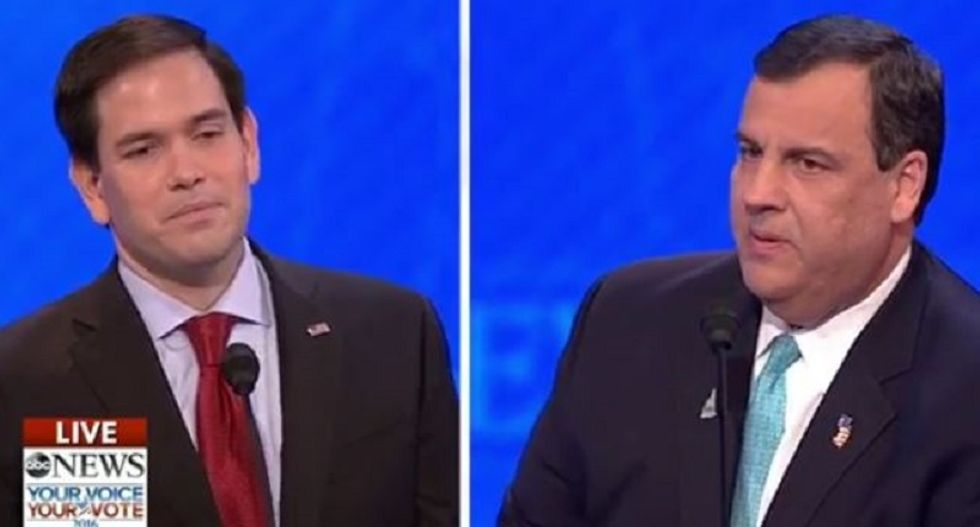 Christie hammers Rubio during NH #GOPdebate: The memorized speech doesn't solve one problem
