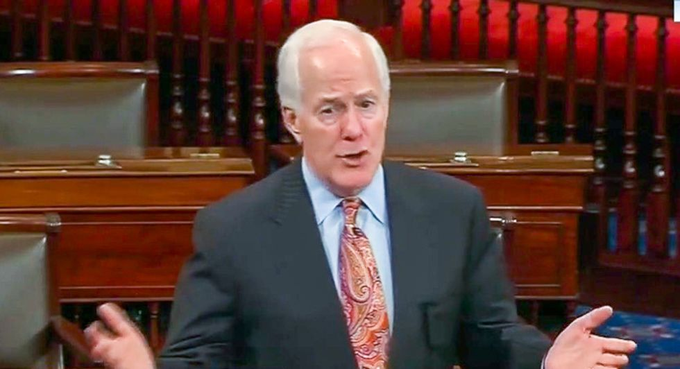 John Cornyn admits he doesn't care if Trump broke the law