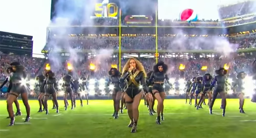 Angry cops throw a hissy fit over Beyonce's 'anti-police' Super Bowl halftime show