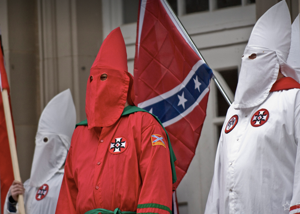 Klan and black groups expected to go head to head at protests at South Carolina state capital