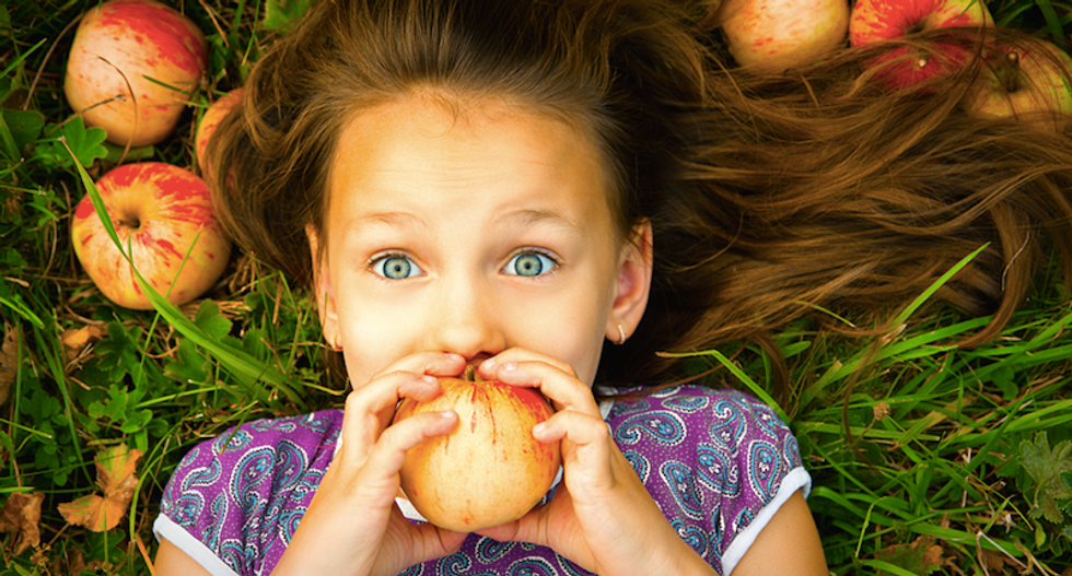 Christian conservatives push child marriage with creepy meme comparing girls to apples