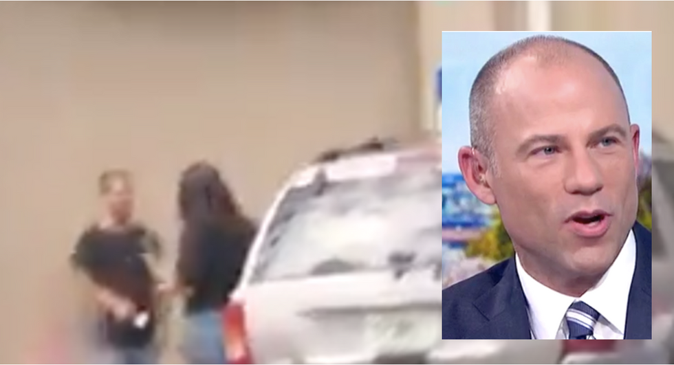 WATCH: Mystery man who forced attorney Avenatti into bankruptcy refuses to say who paid for it in ambush interview