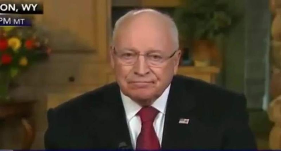 Dick Cheney fires back at Trump: 'He sounds like a liberal Democrat' for saying Bush lied about Iraq war