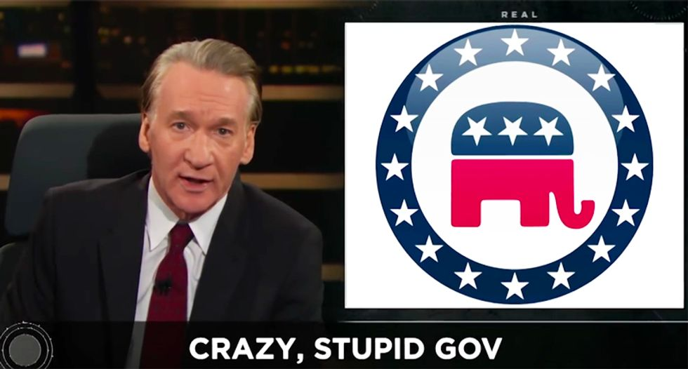 HBO's Maher decimates the GOP as the 'conspiracy theory' party: They 'make sh*t up' to appeal to their base