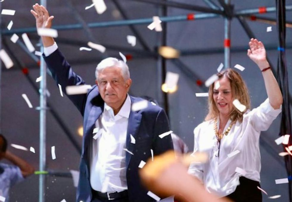 Mexican Lopez Obrador wins historic election landslide for left