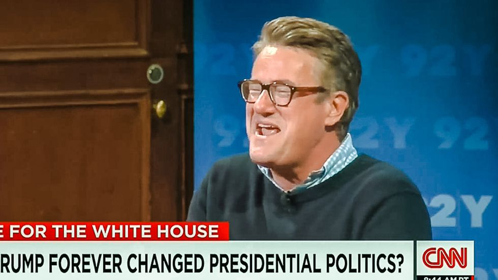 Bill Kristol calls out 'power-worshiping' Joe Scarborough on air for 'bowing down to Trump'
