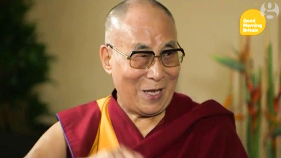 WATCH: The Dalai Lama mocks Trump's 'small' mouth in hilarious impersonation