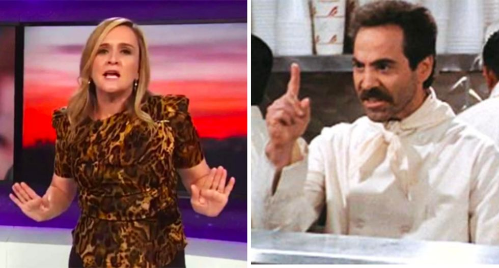 Writer of Seinfeld 'soup Nazi' episode defends Sam Bee over Ivanka quip: 'I think she nailed the joke'