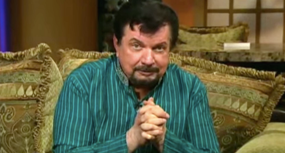 TV preacher who is sexually aroused by money endorses 'warrior spirit' Donald Trump