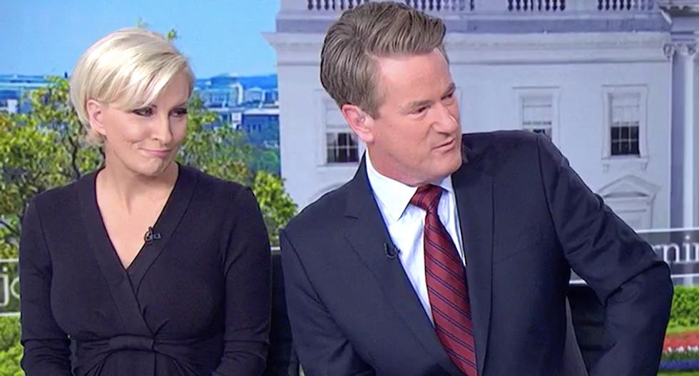 MSNBC's Morning Joe mocks Giuliani for making Trump even less trustworthy: 'Mueller should send Rudy some flowers'