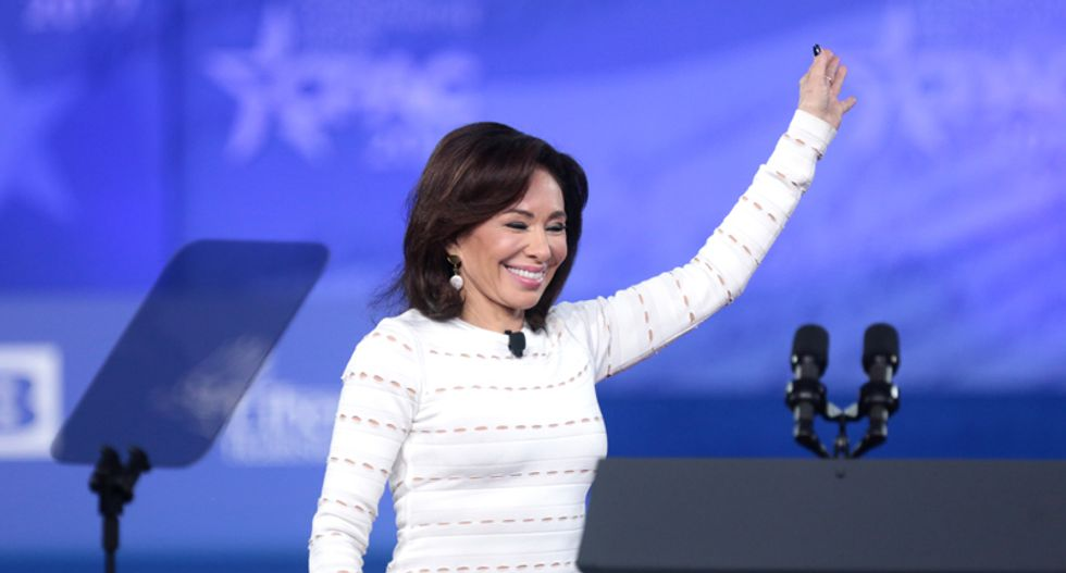 Jeanine Pirro argues coronavirus may be less deadly than the flu in latest Fox News conspiracy theory