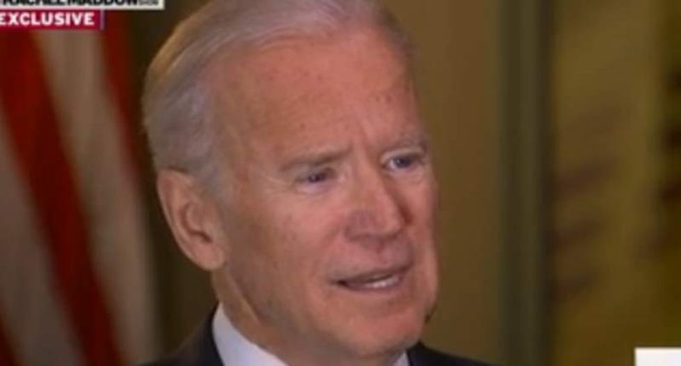 Joe Biden: 'I was proud to see Republicans finally beginning to speak out' against Trump