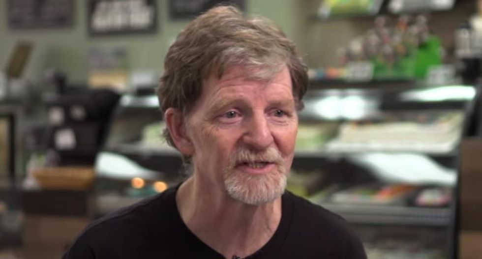 Supreme Court rules in favor of Colorado baker who refused to make cake for gay couple