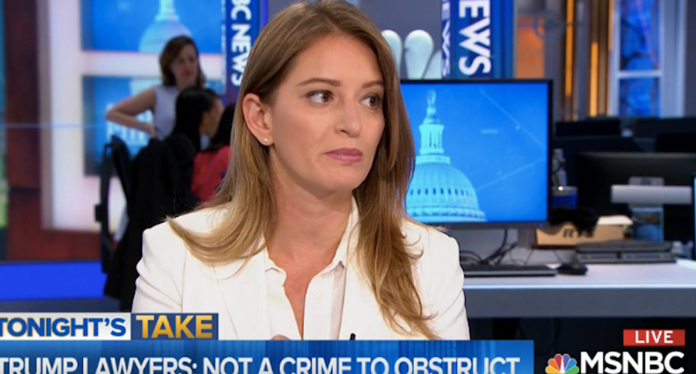 'Do they think we're idiots': Katy Tur calls BS on White House lie blaming Democrats for their immigration policies