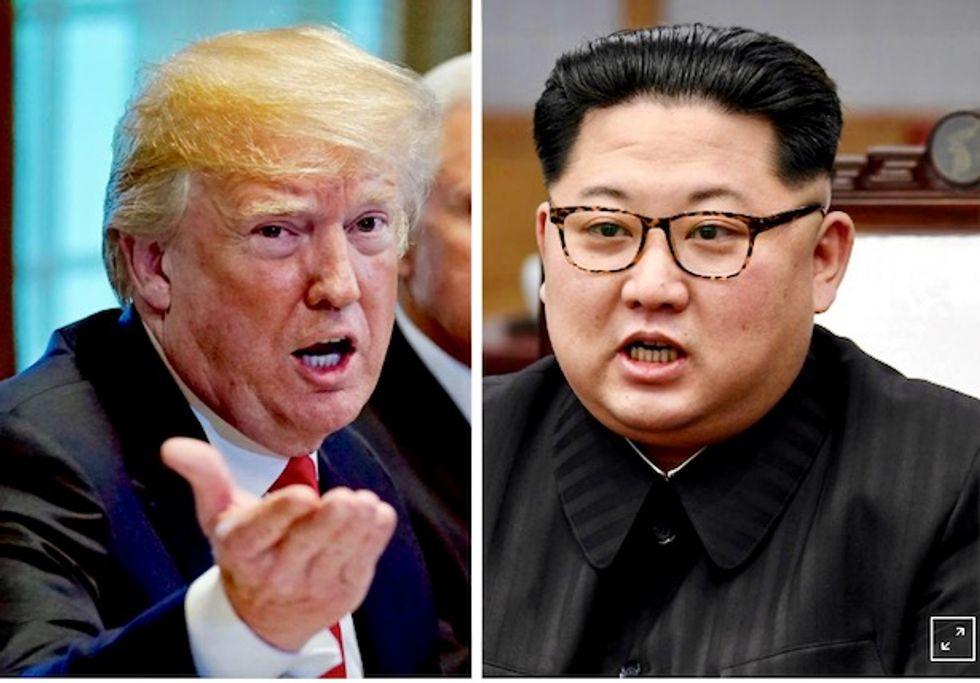 Trump dangles White House invite for Kim Jong-un