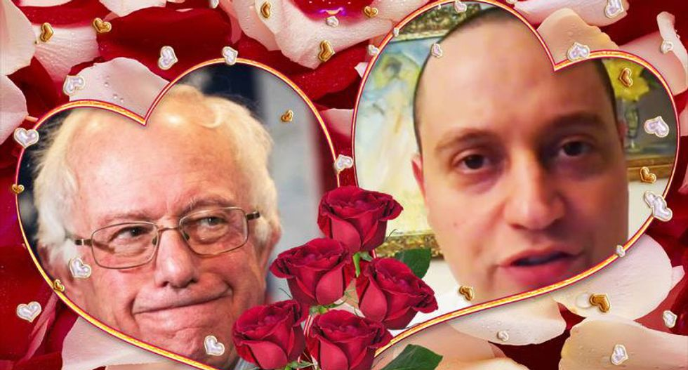 Ultimate Bernie bro: Meet the Hillary-hating Rand fan who felt 'the Bern' and fell in love
