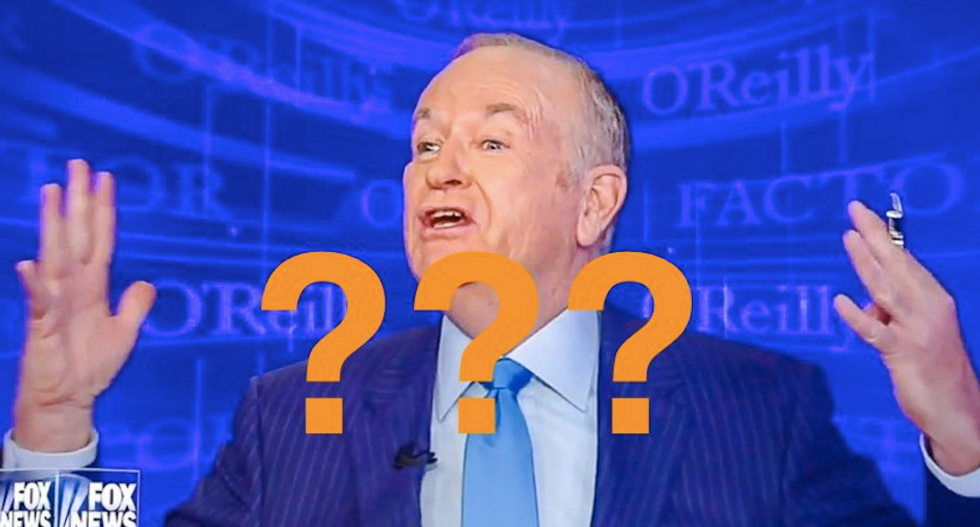 Is O'Reilly the lecherous 'male on-air host' who mused about 'f*cking' his staff to the NY Observer?