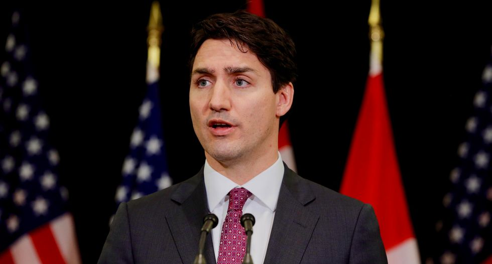 Canada's Trudeau defends dairy system after Trump blast
