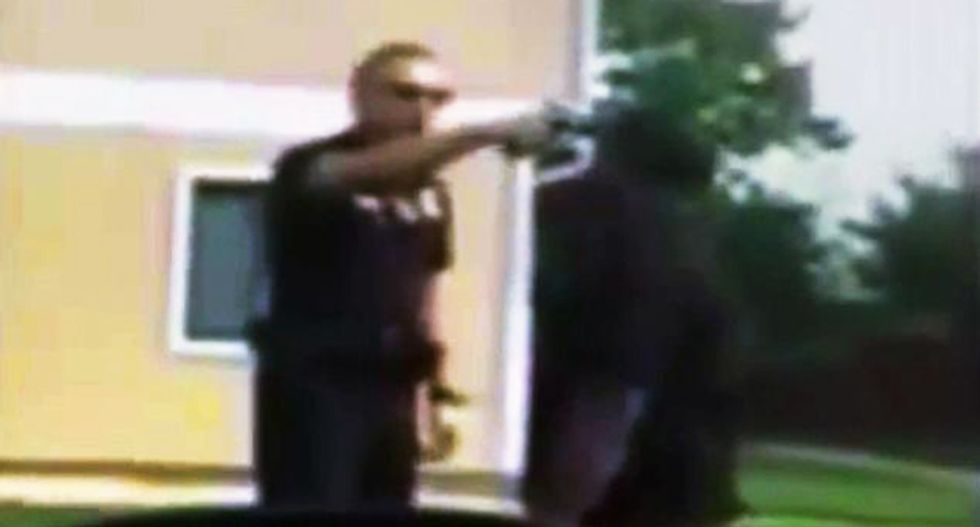 Maryland cop gets five years in prison for shoving gun in black suspect's mouth during 2014 incident