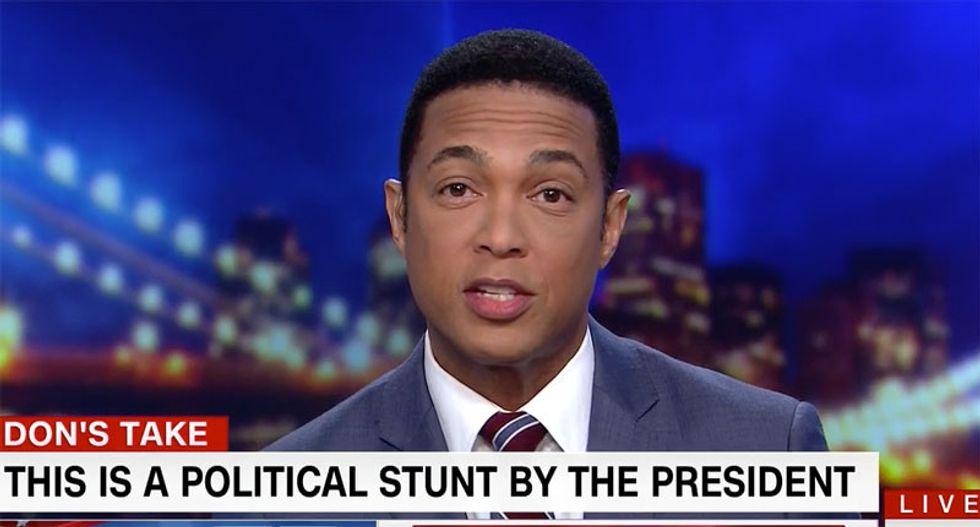 'As autocrats have done for centuries': CNN's Don Lemon slams Trump's 'forced patriotism'
