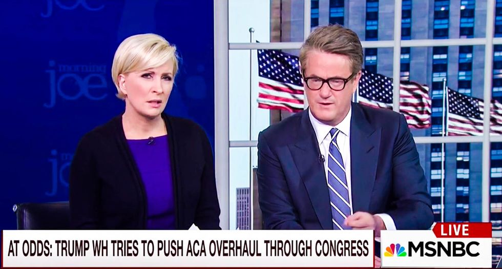 Joe Scarborough rips Trump's 'screw everybody, I'm doing it my own way' approach to passing bills