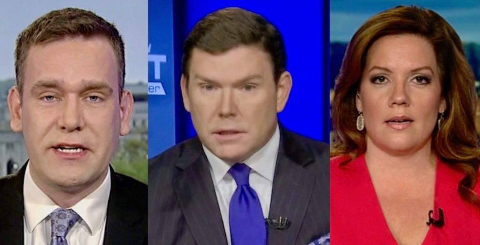 Fox News panel hilariously defends Trump in Eagles spat: 'It was too bad he had a team to work with that didn't kneel'