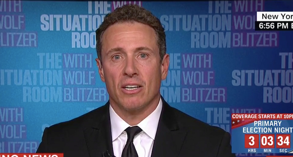 CNN's Chris Cuomo slams Trump for calling himself a 'nationalist' at the expense of other countries
