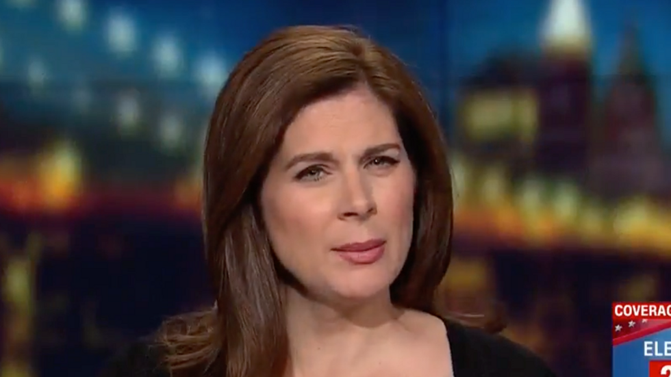 CNN's Erin Burnett unloads on Trump's  'obsessive' history about crowd size and Eagles visit: 'It had nothing to do with patriotism!'