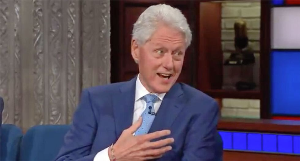 Not 'my finest hour': Bill Clinton gets real with Stephen Colbert on his botched #MeToo interview