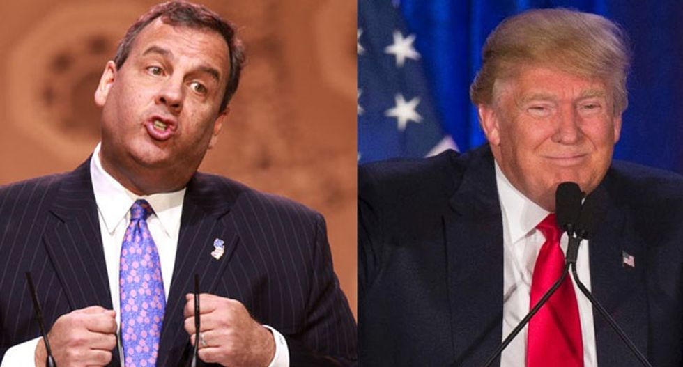 You'll be amazed at how much cash Christie has given to Trump