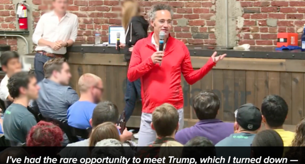 CEO of Peter Thiel-backed Palantir slams Trump as a 'bully' who brags about his 'fictitious wealth'