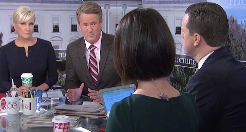 'This is a massive coverup': MSNBC's Morning Joe calls for Justice Dept probe of 'child rapist' Jeffrey Epstein