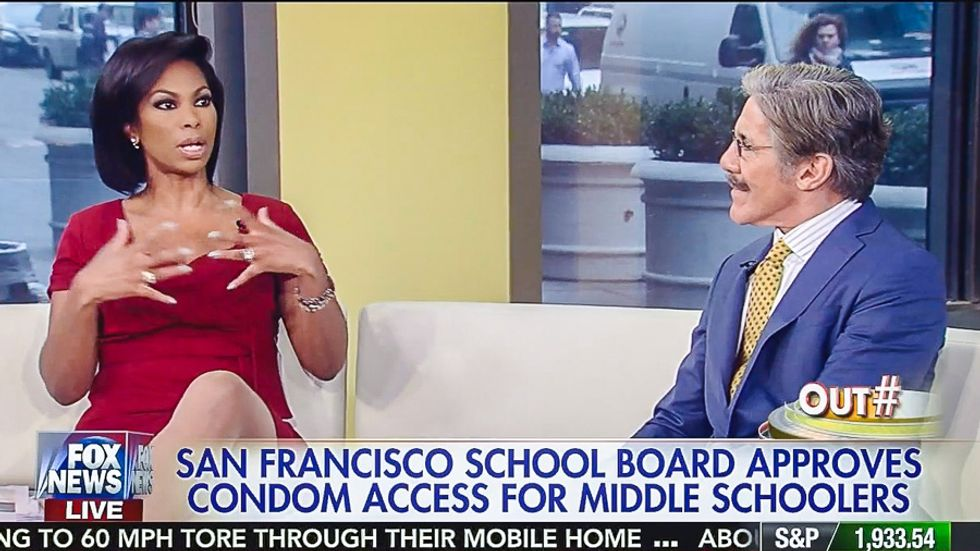 WATCH: Fox News hosts insanely argue students should have access to guns, not condoms in school