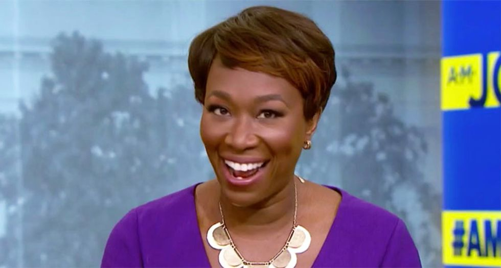 Watch MSNBC host Joy Reid ridicule pastor she booted from her show over his plans to run for Congress