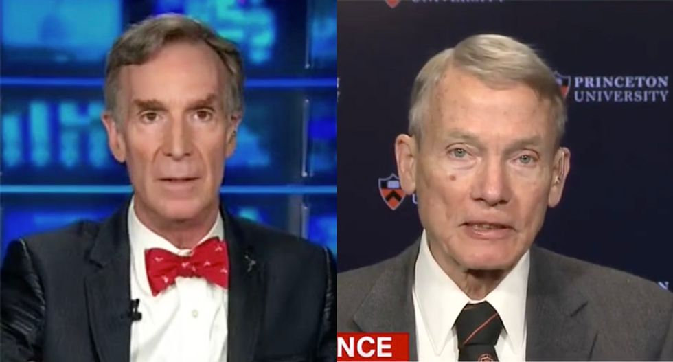 Watch Bill Nye demolish the climate change-denying Trump adviser who compared the Paris accord to appeasing Hitler