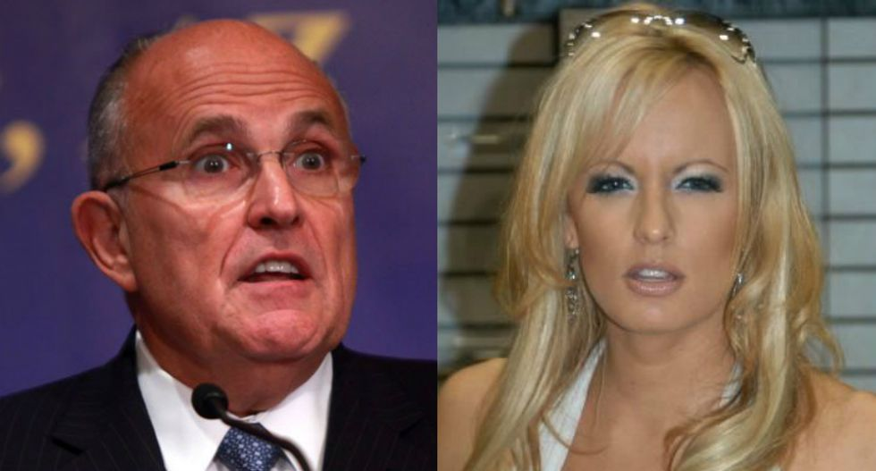 Rudy Giuliani doubles down on Stormy Daniels attack by telling feminists what to think