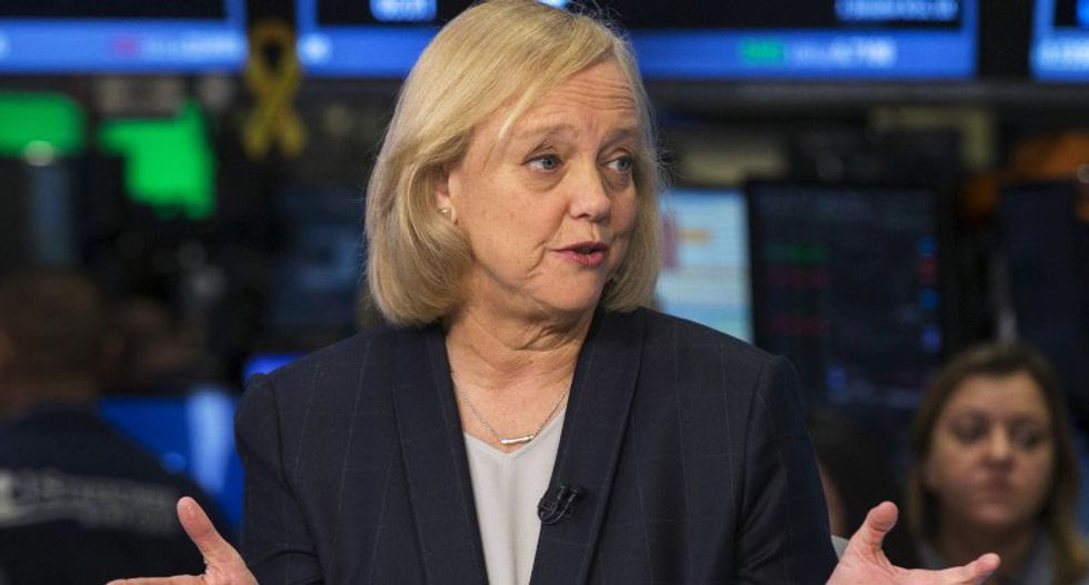HP CEO and former GOP governor nominee Meg Whitman labels Trump 'unfit' to be president