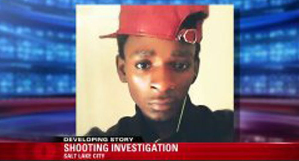 Salt Lake police confronted by protesters after cops shoot black teen armed with broom handle