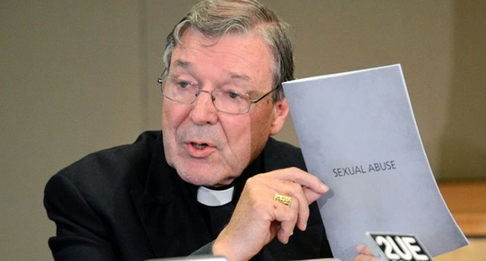 Church 'mucked up' with paedophile priests: Vatican finance chief