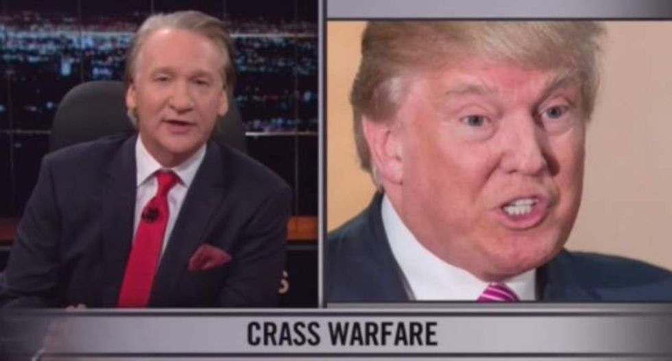 Bill Maher exposes Trump's 'Christian' faux outrage with clips of Donald's public f-bombs