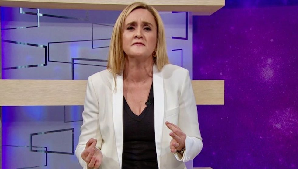 Samantha Bee opens show with apology for using C-word -- and by calling out Ted Cruz