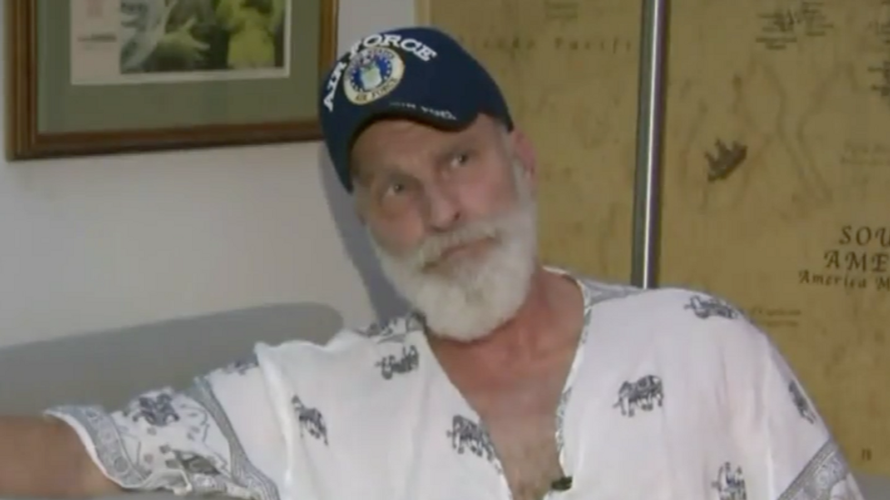Watch: Gay veteran shares ugly video of neighbors taunting and spitting on him