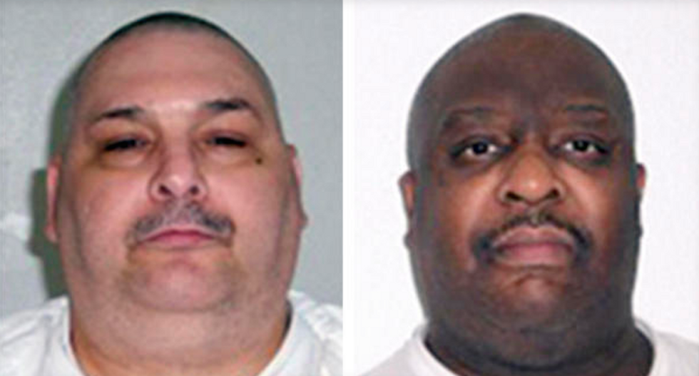 Arkansas plans to execute two convicts Monday